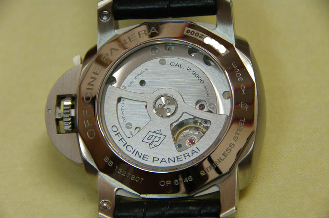 In-house P.9000 movement