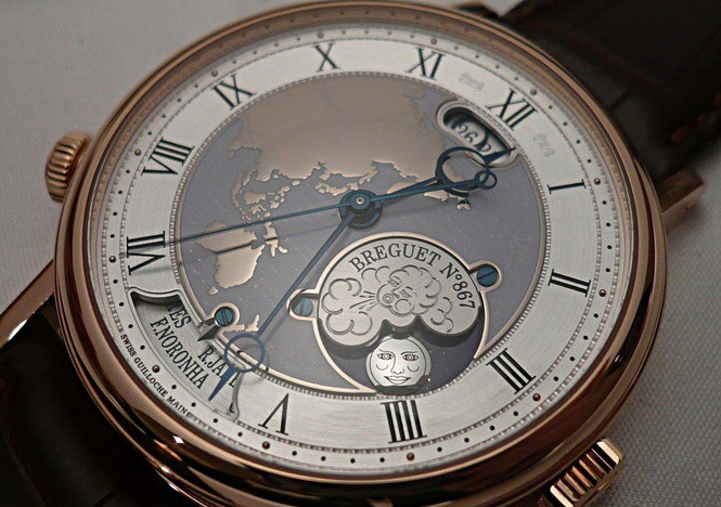 Breguet complications
