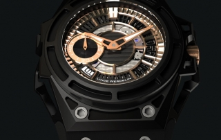 LINDE_WERDELIN_SpidoLile_II_Black_Gold_Closeup_view
