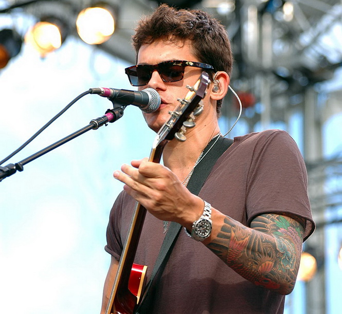 John mayer a serious collector for Celebrity wearing rolex watches