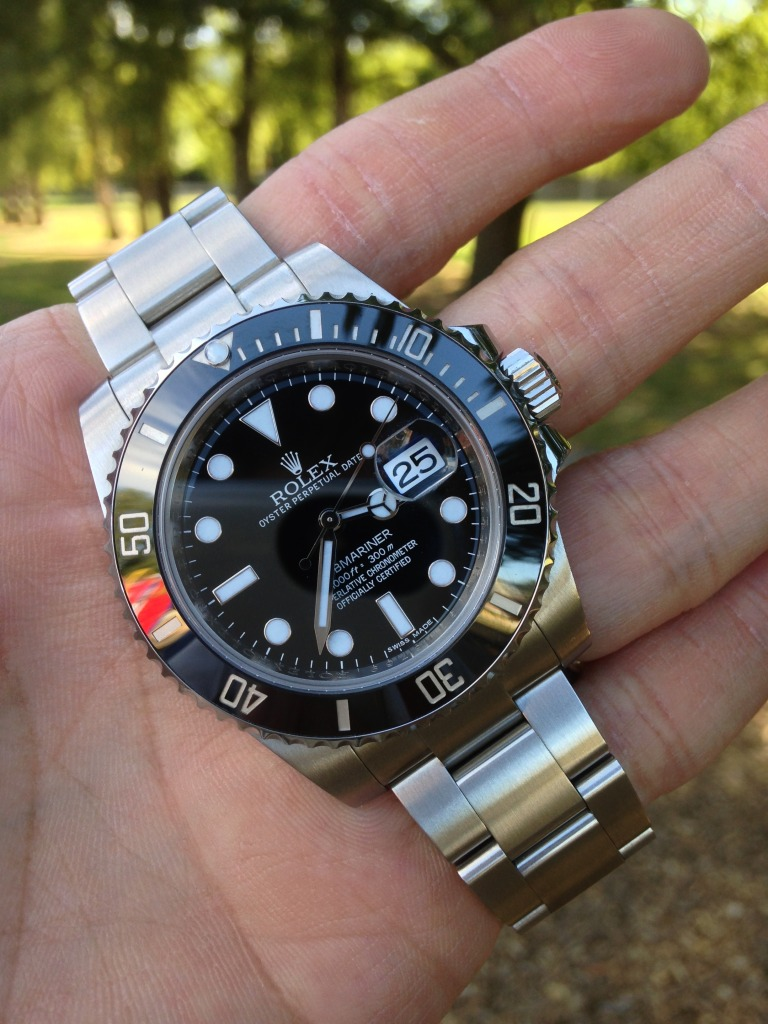 Rolex Submariner Ceramic 116610ln